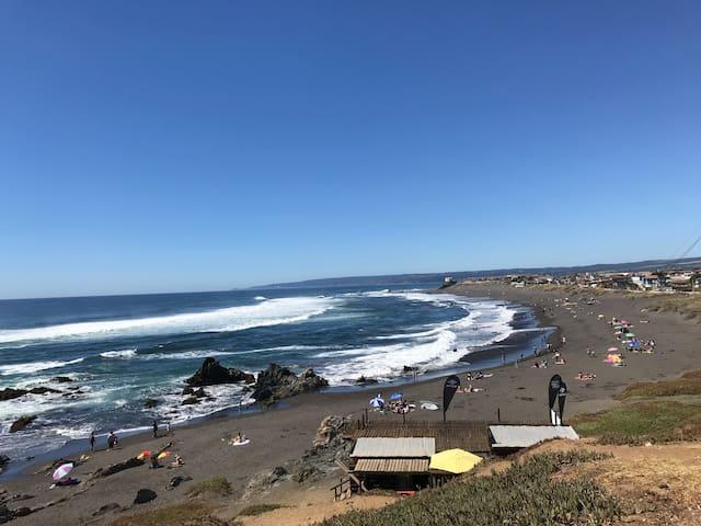 Big Surf vacation home, low price! Pichilemu Chile