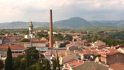 Apartamento céntrico con vistas a todo Sabadell
