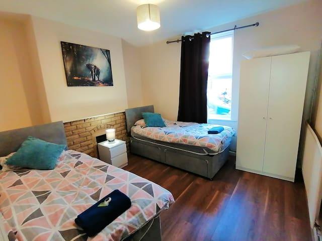 Large bedroom downstair
