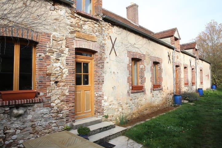 fermette - Montceaux-lès-Provins - Hus