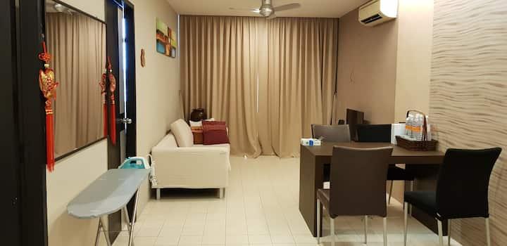 Cozy Apartment at Chonglin Park, Kuching
