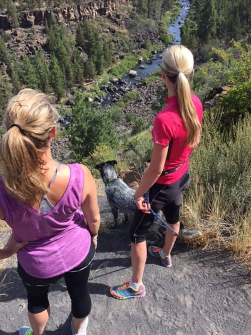 Deschutes River Trail in your backyard.