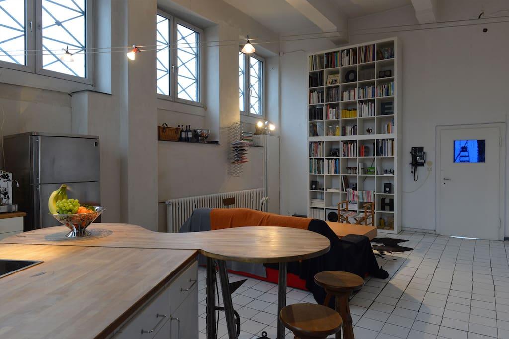 Küche / Wohnraum