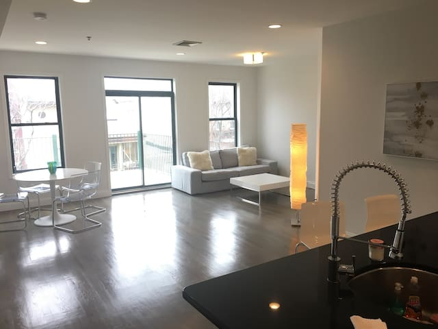 Hoboken Luxury- Easy Access to NYC- Times Square - Hoboken - Appartement