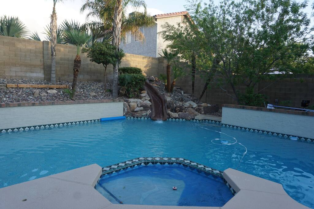Pool and Jacuzzi; heated in winter