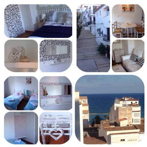 Casita Maltea a pretty flat in old town near beach - Altea - Byt