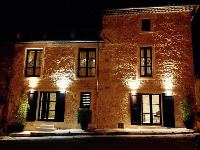 Gîte - Maison village médiéval  - Proche Avignon - Saint-Laurent-des-Arbres - House