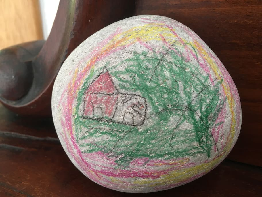 Cruachan Holiday Home | A very special piece of artwork from a very special guest!