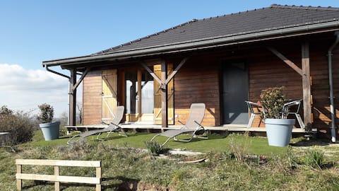 Maison Ossature bois en Aveyron