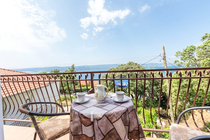 One bedroom Apartment, 50m from city center, seaside in Stanici