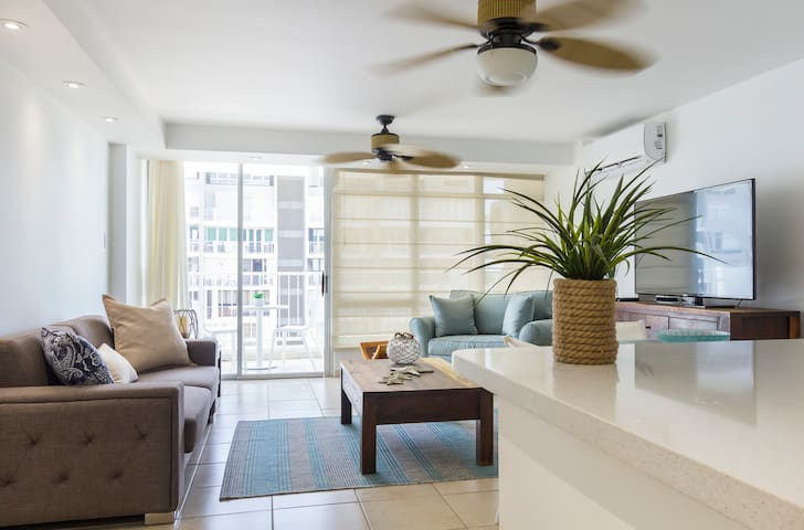 Oceanview Beachfront Apt in Isla Verde Ave!