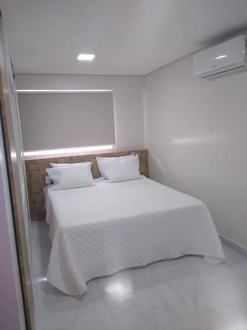 1° quarto - cama de casal