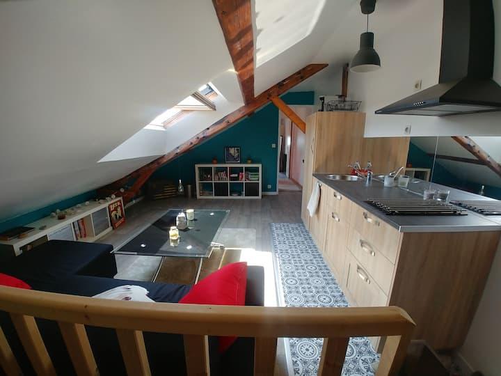 Petit appartement sous les toits