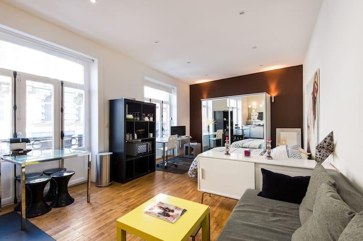 Appartement cosy - Hyper centre & à 100m des gares - Lille - Appartement