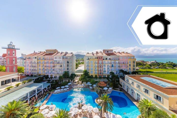 Penthouse view pool luxury resort Jurerê ILC4502