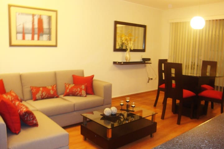 Elegant apartment in Miraflores near Larcomar - Miraflores - Apartament