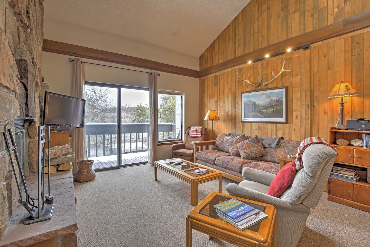 Cozy up in this Fraser vacation rental.