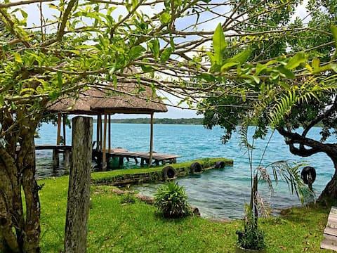 Cabaña Muul  en Xul-ha, Laguna de Bacalar