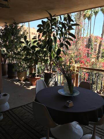 Stanza in Appartamento luminoso con terrazza