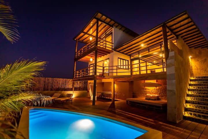 Casas Lua & Mar (Villa 3) - Vichayito - Máncora