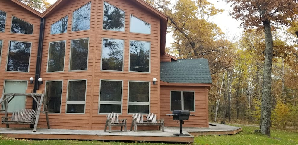 Large modern resort cabin