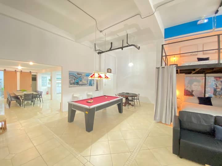 Ocean Loft Fun&Modern Walking Distance ToThe Beach