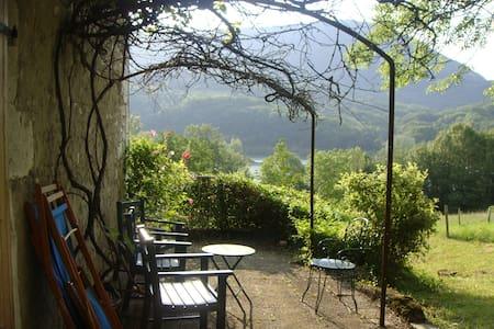 Maison savoyarde en plein champ ,sur le Rhône - Seyssel - Dům