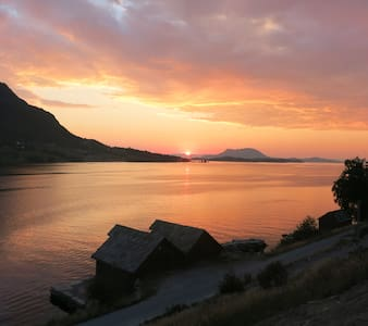 Fjordview Sunset Trolltunga Hardanger Rosendal - Vindafjord - Sommerhus/hytte