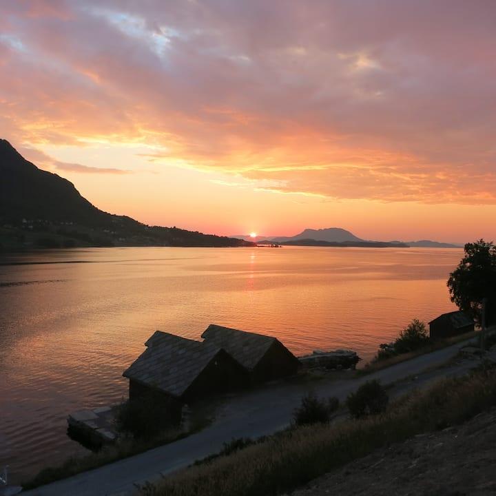 Fjordview Sunset Trolltunga Hardanger Rosendal