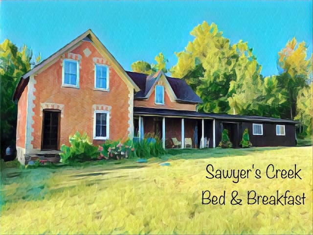 Sawyer's Creek B&B -- Demille Room