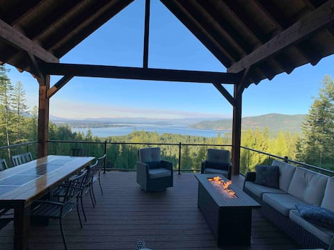 One Bedroom Luxury North Idaho Estate With A View