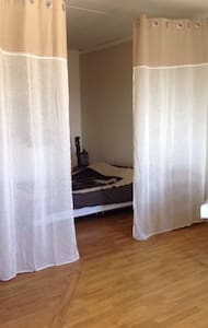 Equipped room, 5mn from the center of the town
