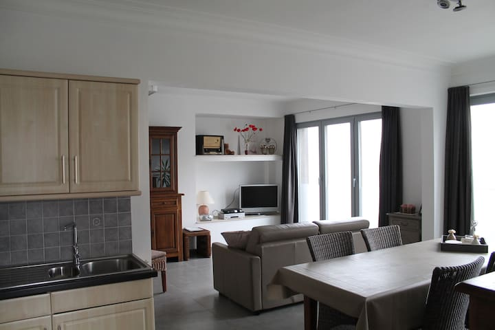 Apartment De Reünie - Langemark-Poelkapelle - Appartement