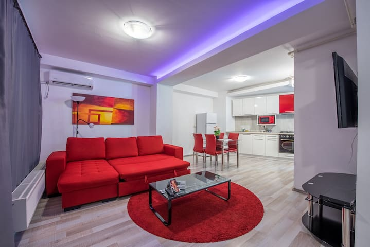Amazing SINGLE Beds, 2 bathrooms Central Apartment