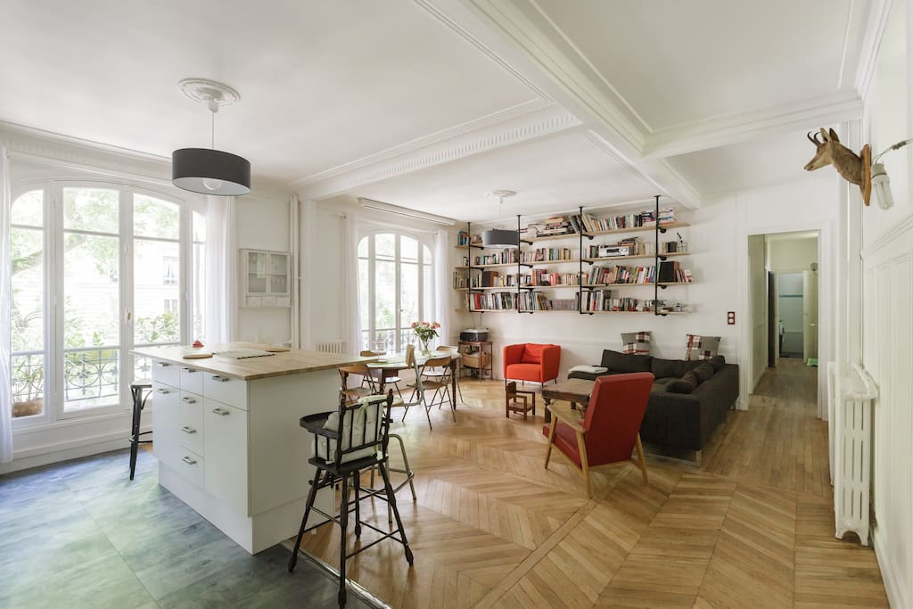 classic parisian building .