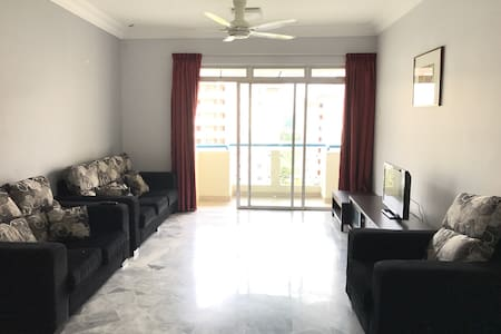 3 Bedroom Apt in Ocean View Resort - Port Dickson - Lägenhet