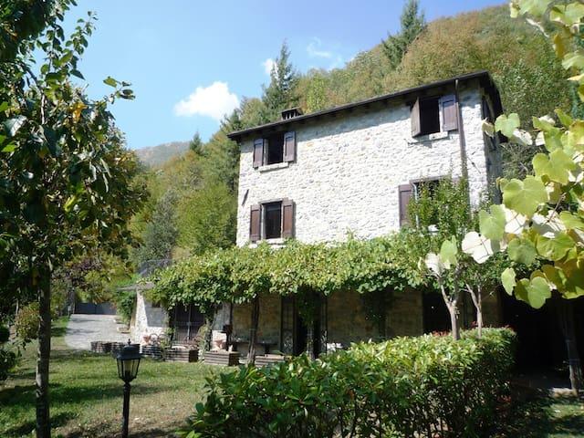 Delizioso rustico in pietra vista Alpi Apuane - Fornovolasco - House