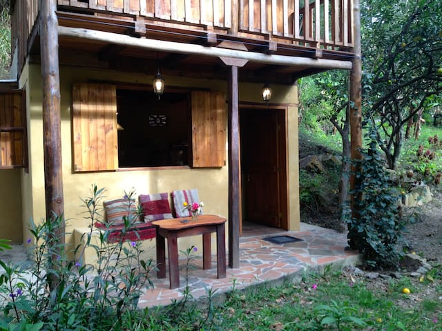 Tranquil Casita Colibrí on Lush Land - Vilcabamba