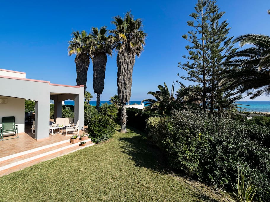 Casa Coco is a few steps away from the beach