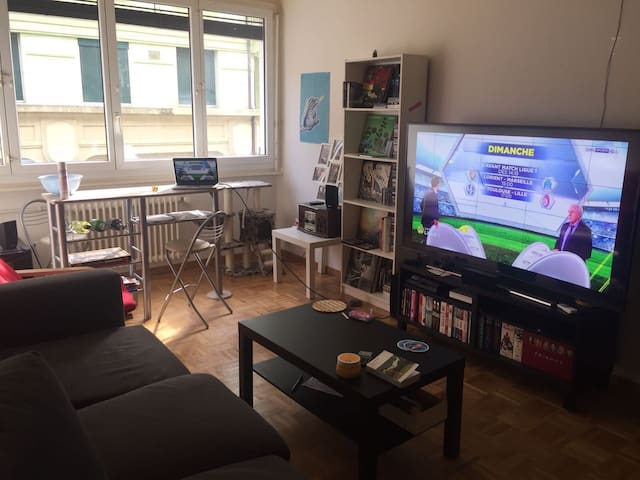 2-bedrooms apartment in Geneva city center - Geneve - Huoneisto