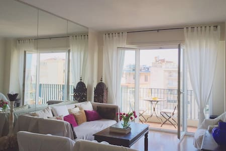 Attico con vista mare a Nizza - Nice - Appartement