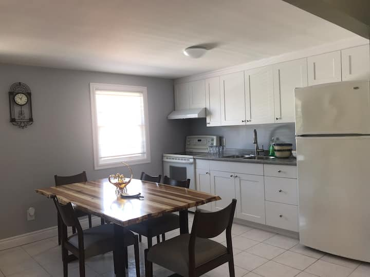 Fully renovated upstairs unit staying