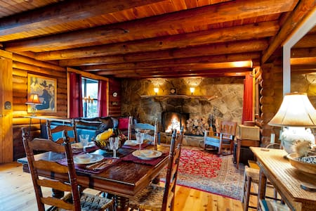 Cozy Log Cabin on Lookout Mountain