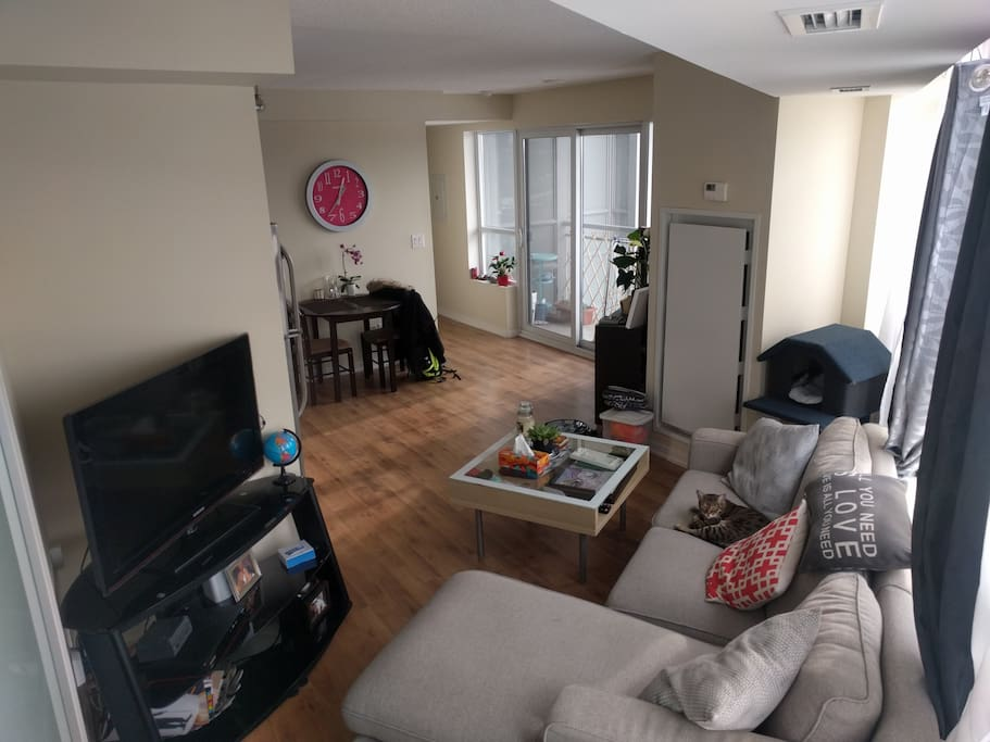 KING ST LIBERTY VILLAGE 1 BEDM FURNISHED CONDO+PARKING