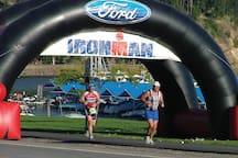 CDA Ironman Competition.  http://www.ironman.com/triathlon/events/americas/ironman-70.3/coeur-d-alene.aspx