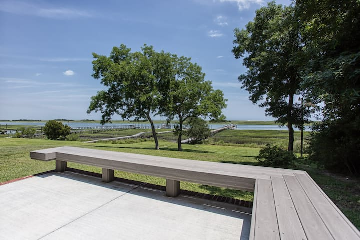 Dream View-Beach/Ocean; 3 bed w/dock on the Intracoastal Waterway! - Wilmington - Ev