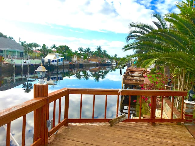 House with Pool and  70 Foot Dock - Pompano Beach - Ev
