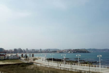 Apartamento vistas mar y bahia. - Gijón - Appartement
