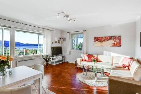 Cosy apartment w/ amazing seaview - Bergen - Appartamento