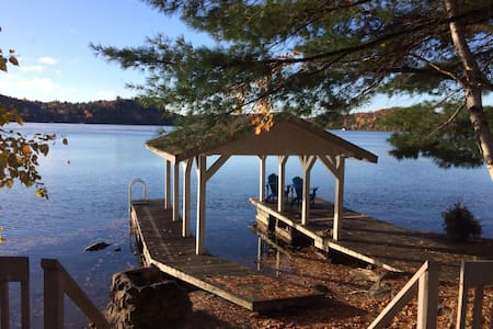 *NEW*Lake of Bays! Bayside Cottage - Dwight - Blockhütte
